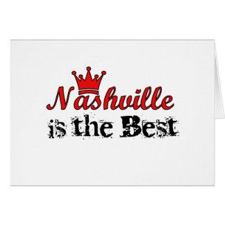 Corona Nashville Tarjeta De Felicitación