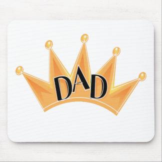 Corona para el papá tapetes de raton