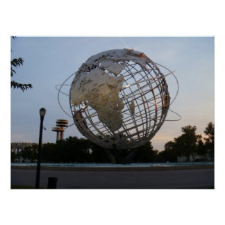 Corona Park Sculpture - Unisphere Print