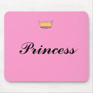 Corona, princesa alfombrillas de ratón