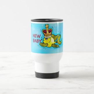 Corona que lleva del nuevo del bebé goldfish taza de viaje
