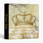 Corona real con las ramas
