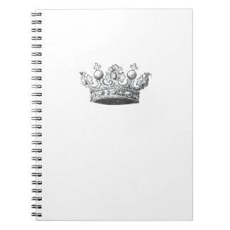 Corona real libro de apuntes