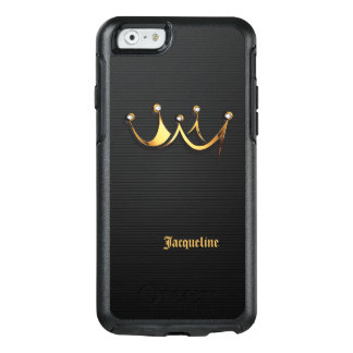 Corona real de oro de la reina funda otterbox para iPhone 6/6s