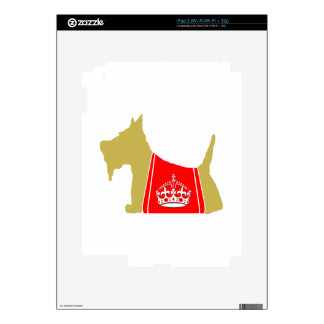 Corona real de trigo de no. 15 del escocés iPad 2 skins