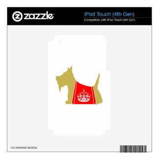 Corona real de trigo de no. 15 del escocés iPod touch 4G skin