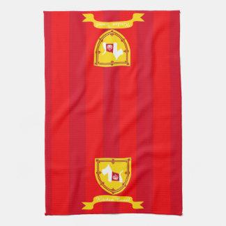 Corona real de Westie Toalla De Mano