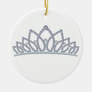 Corona real ornamento de navidad