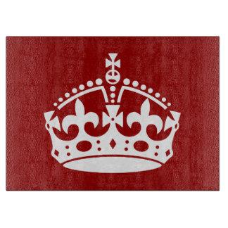 Corona real tablas de cortar