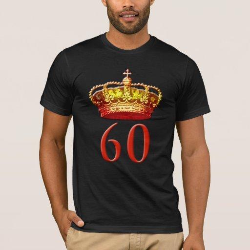 Corona real y 60 para el jubileo de diamante playera