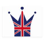 Corona Reino Unido - Gran Bretaña Postales
