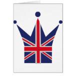 Corona Reino Unido - Gran Bretaña Tarjeton