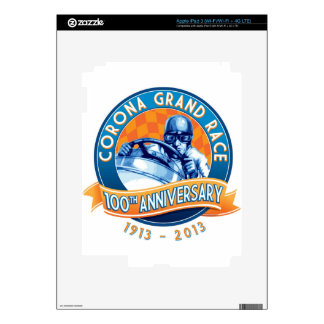 Corona Road Races 100th Anniversary Decals For iPad 3
