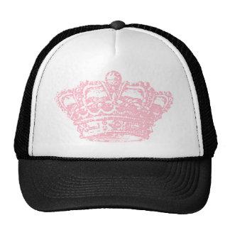 Corona rosada gorras