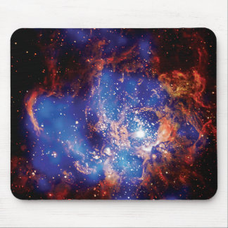 Corona Star Cluster Mouse Pad