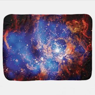 Corona Star Cluster Receiving Blanket
