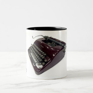 Corona Sterling typewriter Two-Tone Coffee Mug