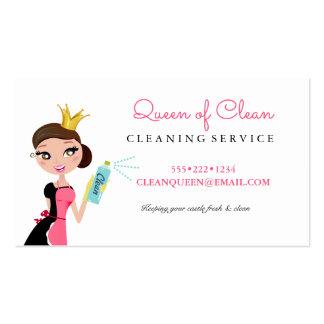 Corona triguena del carácter del servicio de la tarjetas de visita
