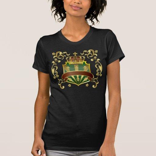 Corona y escudo camisas