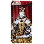 Coronación de la reina Elizabeth de Tudor I Funda De iPhone 6 Plus Barely There