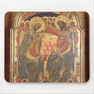 Coronación de la Virgen, 1372 Alfombrillas De Ratones