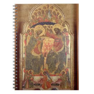 Coronación de la Virgen, 1372 Cuadernos