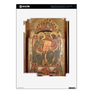 Coronación de la Virgen, 1372 iPad 3 Pegatina Skin