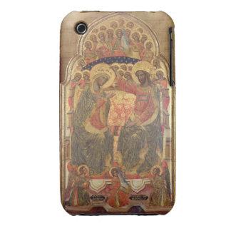 Coronación de la Virgen, 1372 iPhone 3 Case-Mate Funda