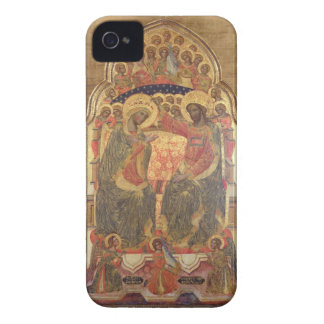 Coronación de la Virgen, 1372 iPhone 4 Case-Mate Carcasa