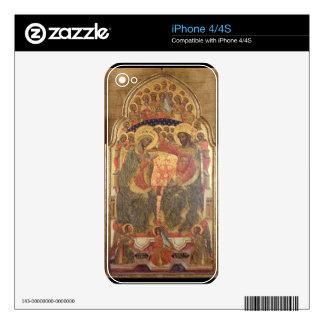 Coronación de la Virgen, 1372 iPhone 4 Skin