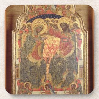 Coronación de la Virgen, 1372 Posavasos De Bebidas