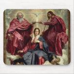 Coronación de la Virgen, c.1641-42 Alfombrilla De Raton