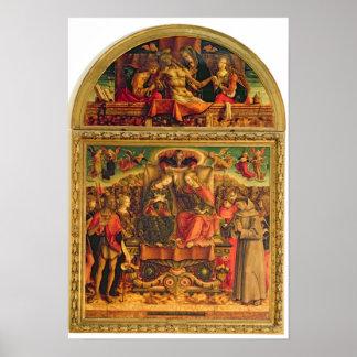Coronación de la Virgen Posters
