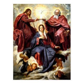 Coronación de la Virgen Postales