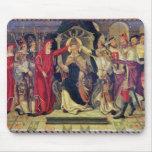 Coronación de papa Celestino V en agosto de 1294 Mousepads