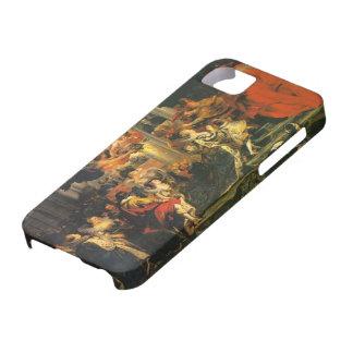 Coronación de Peter Paul Rubens- de Marie de iPhone 5 Protector