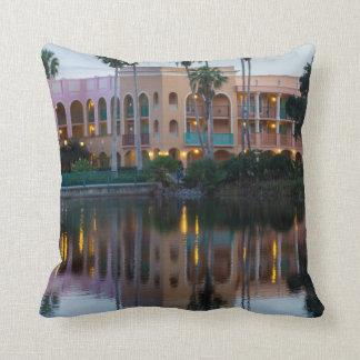 Coronada Springs Reflections Throw Pillow