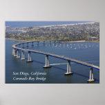 Coronado Bay Bridge Poster