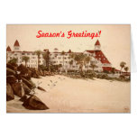 CORONADO BEACH GREETING CARD