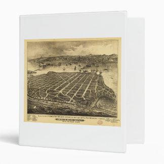 Coronado Beach San Diego California (1880) 3 Ring Binder