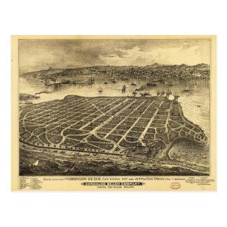 Coronado Beach San Diego California (1880) Postcard