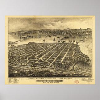 Coronado Beach San Diego California (1880) Poster