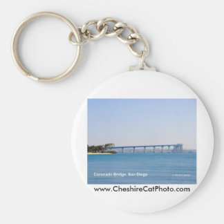 Coronado Bridge San Diego California Products Basic Round Button Keychain