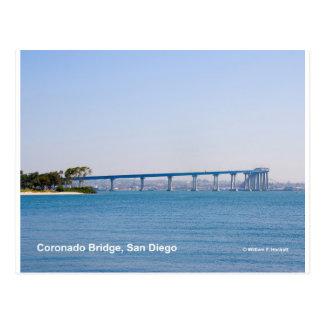 Coronado Bridge San Diego California Products Postcard