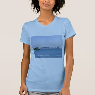 Coronado Bridge San Diego California Products T-Shirt