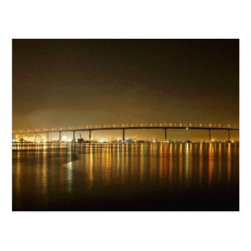 Coronado Bridge Seen From The Ferry Landing Post Card