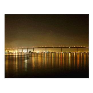 Coronado Bridge Seen From The Ferry Landing Postcard