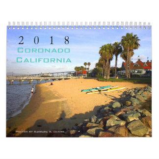 Coronado CA Calendar, 12 Original Photos. Calendar