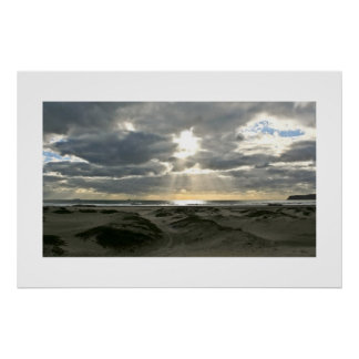 Coronado Island After A Storm Poster