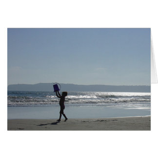 Coronado Island beach Card